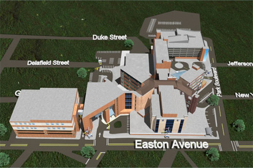 University Hospital Main Campus Map.Finding Your Way Saint Peter S Healthcare System