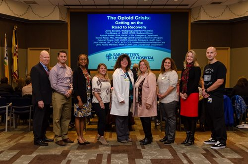 Saint Peter's Opiod Task Force