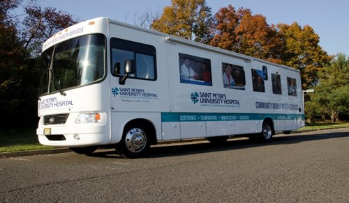 Saint Peter's Community Health Van