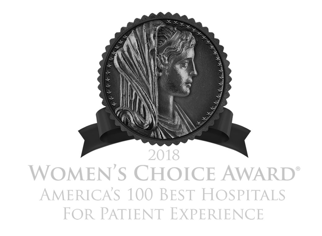 2018 Women's Choice Award Region's Best Hospital